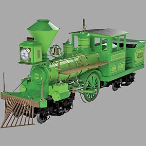 Chance Rides Electric C.P. Huntington Train