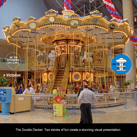Chance Rides 36ft Double Decker Carousel