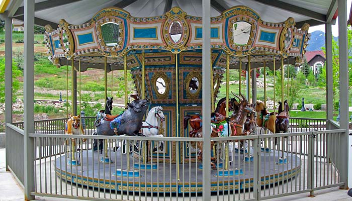 Chance Rides 20ft Carousel