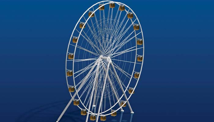 Chance Rides GXL 200 Wheel