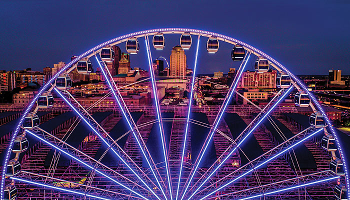 St. Louis Union Station Wheel