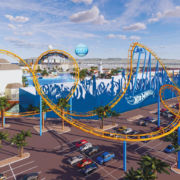 Chance Rides Coaster - Mattel Hot Wheels
