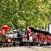 Noccalula Falls Park Chance Rides Electric C.P. Huntington Train
